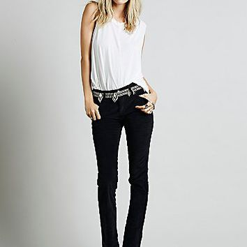 Free People Womens Extended Cord Skinny