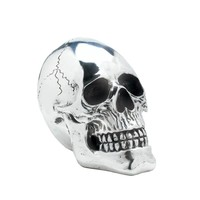 Shining Silver Skull Halloween Decor