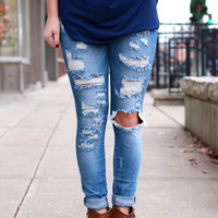 Distressed Signal Denim