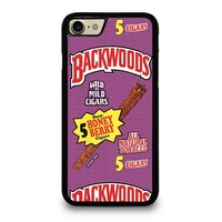 ONLY BACKWOODS CIGARS iPhone 4/4S 5/5S/SE 5C 6/6S 7 8 Plus X Case