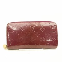 Authentic Louis Vuitton Zippy Wallet Vernis 187380