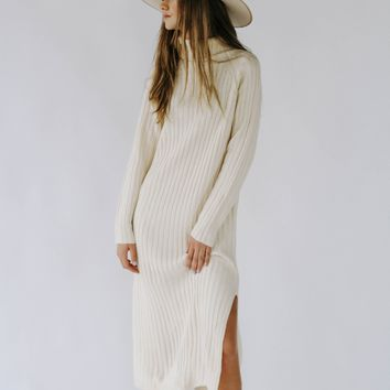 Lola Girl Midi Sweater Dress