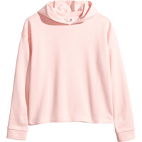 H&M - Hooded Top - Light pink - Kids