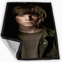 The Walking Dead Carl Grimes Blanket for Kids Blanket, Fleece Blanket Cute and Awesome Blanket for your bedding, Blanket fleece *