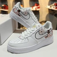 2018 Nike Air Force 1 AF1 Low CNY White Blue Tint AO9381 100 Sport Shoes - Best Online Sale
