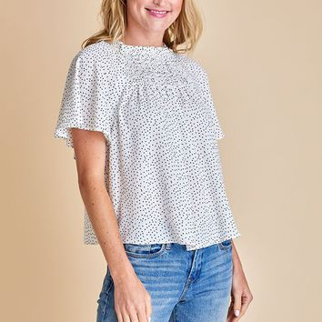 Sugarlips Polka Dot Top