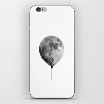 The light side of the moon iPhone Skin by printapix