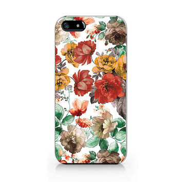 A-309 -Autumn Floral iphone 6/iPhone 4/4S case, iPhone 5/5S/5C, Samsung S4/S5/note3