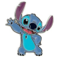 Disney Lilo & Stitch Waving Stitch Enamel Pin