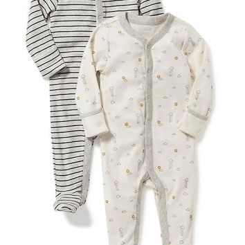 Jersey One-Piece 2-Pack for Baby   Old Navy