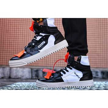 NIKE AIR OFF WHITE men and women tide brand fashion casual wild sneakers F-PSXY