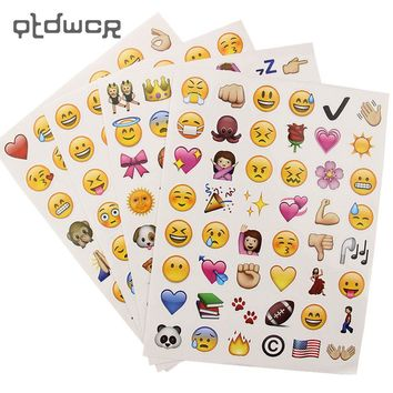 Emoji Scrapbooking Stickers (192 Total)