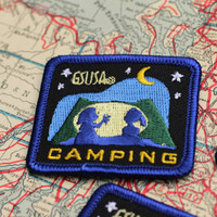 Girl Scout Patches 5 Camping Fun Badges Embroidered Patches Badge Lot Insignia
