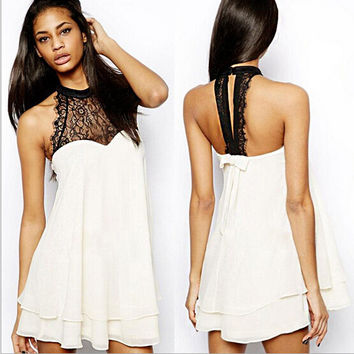 Summer Sexy Women Mini Dress Casual Dress for Party and Dating = 4661793476
