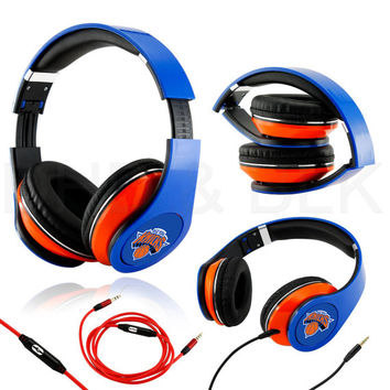 New York Knicks Headphones with mic Sp 2015