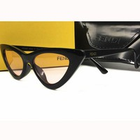 Perfect Fendi Woman Fashion Summer Sun Shades Eyeglasses Glasses Sunglasses