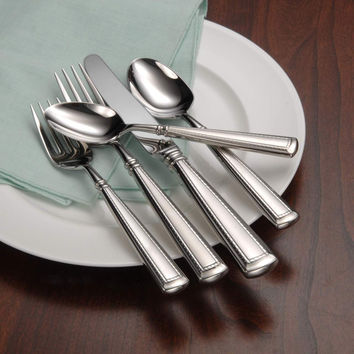 Oneida Couplet 5 Piece Fine Flatware Set, Service for 1