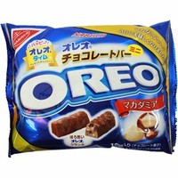 Nabisco Oreo Mini Bar Macadamia Nuts Chocolate