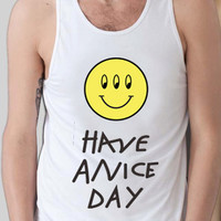 funny shirt Have a nice day alien shirt as worn by Louis Tomlinson tank top,available for tanktop mens and tank top woman