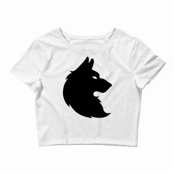 THE KING WOLF Crop Top