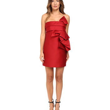 DSQUARED2 Wool Silk Mini Sculpture Dress