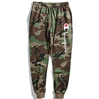 Champion Fashion Edgy Simple Pants Trousers Sweatpants