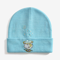 Disney Beauty And The Beast Chip Cuff Beanie