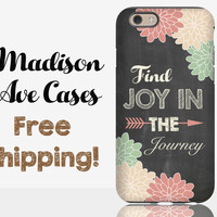 Find Joy In The Journey Phone Case