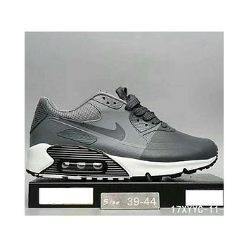 Nike MAX 90 ULTRA AIR and waffle new men and women fashion casual shoes F-HAOXIE-ADXJ Gray