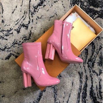 Louis Vuitton Lv Silhouette Ankle Boot #2225