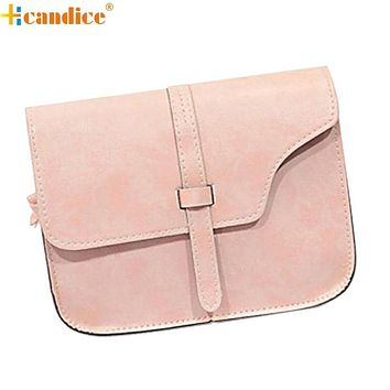 Hcandice Best Gift New Women Girl Shoulder Bag Faux Leather Satchel Crossbody Tote Handbag drop ship bea666