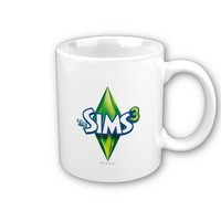The Sims 3 Logo Mug from Zazzle.com