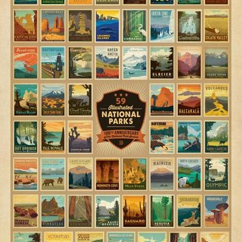 100th Anniversary of the National Park Service, 500 Piece Jigsaw Puzzle