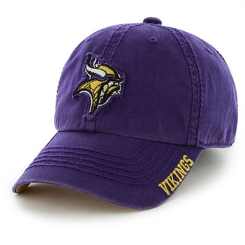 47 Brand Minnesota Vikings Winthrop Slouch Fitted Hat