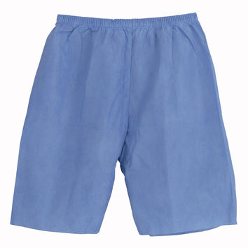 SHORTS,EXAM,MULTI-LYR,ELST WAIST,BLUE,X