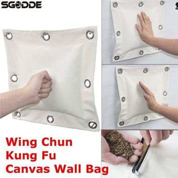 High Quality 40*40 CM Wing Chun Punch Bag Kung Fu Martial Arts Wall bag Kick Boxing Punch Bag Sand Bags