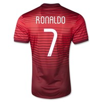Portugal 2014 RONALDO Authentic Home Soccer Jersey