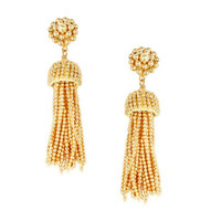 Lisi Lerch Tassel Earrings in Gold