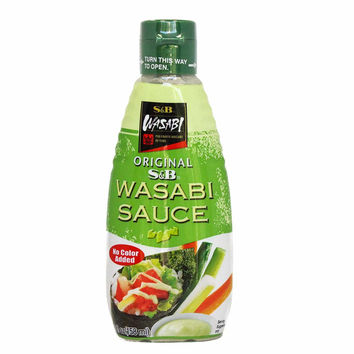 S&B Original Wasabi Sauce 5.3 oz. (158ml)