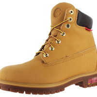 "Timberland 6"" Men's Premium Helcor Boots Leather Wheat"