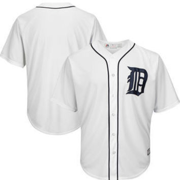 MLB Detroit Tigers Men's Cool Base Home Replica Jersey
