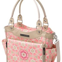 Infant Girl's Petunia Pickle Bottom 'City Carryall' Glazed Canvas Diaper Bag