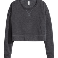 H&M - Cropped Sweatshirt