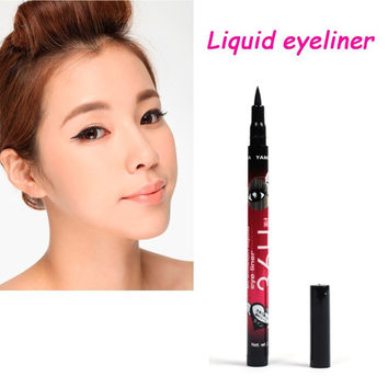 2016 Professional Liquid Eyeliner Pen Long-Lasting Makeup sexy Black Eye liner Waterproof Pencil beauty women Make up tools