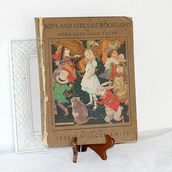 "First Edition ""Boys and Girls of Bookland"" by Nora Archibald Smith 