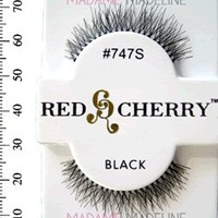Madame Madeline: Red Cherry Lashes #747S, Red Cherry Natural Lashes