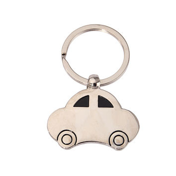 1 PCS Measuring Cups & SpoonsMini Lovely Vintage Beetle Car Shaped Keychain Key Chain Ring Holder Keyfob Gift