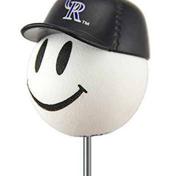 Colorado Rockies MLB Baseball Cap Antenna Topper