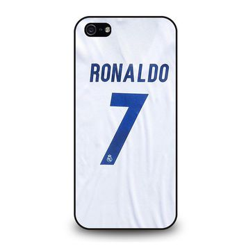 RONALDO CR7 JERSEY REAL MADRID iPhone 5 / 5S / SE Case Cover