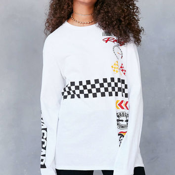 Junk Food NASCAR Long-Sleeve Tee - Urban Outfitters